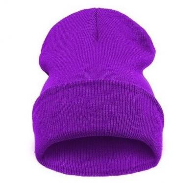 Čepice Beanie Blank Grape