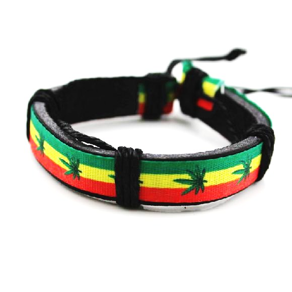 0a3690870 B746 Náramek WEED / Jamaica   Katalog   HIP HOP SHOP BLINGSTAR