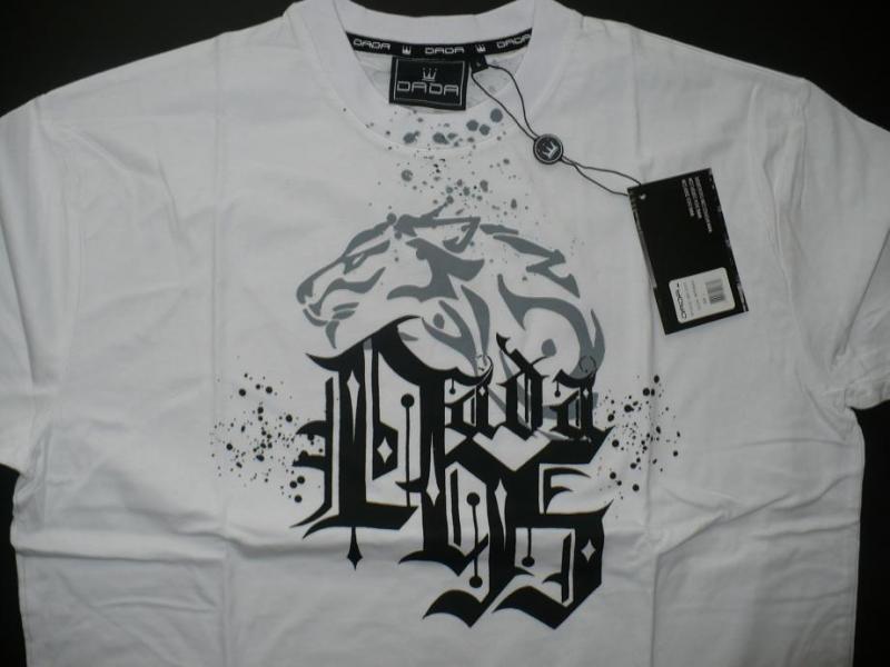 Hip Hop Triko DADA SUPREME Lion Tee - white - model 2010 ... c1b7431d8b