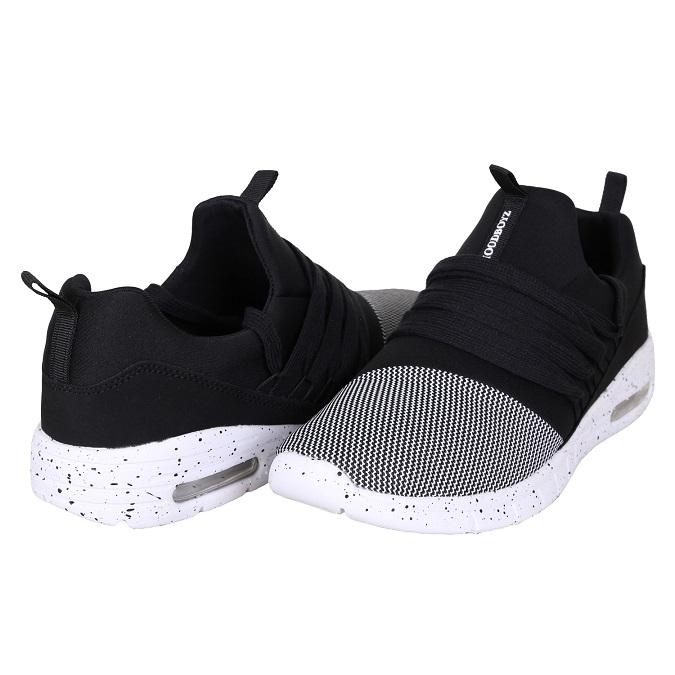 Boty HOODBOYZ Lined Sneaker Black - 1139  903d634a5e