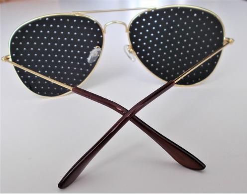 ae968c58e Sluneční Brýle Pin Hole AVIATOR - Gold/Black - 1162   Katalog   HIP ...