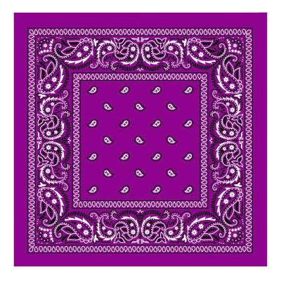 Bandana šátek - Grape - 55 x 55 cm - B204