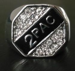 Hip Hop Prsten Diamond Silver r275