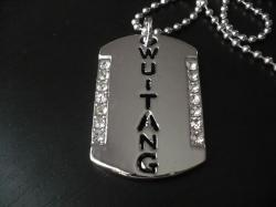 Hip Hop Přívěsek Big Dog Tag Diamond A278