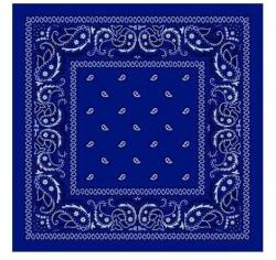 Bandana šátek Royal Blue b291