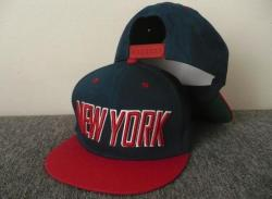 SNAPBACK Kšiltovka NEW YORK - S441 - Blue/Red