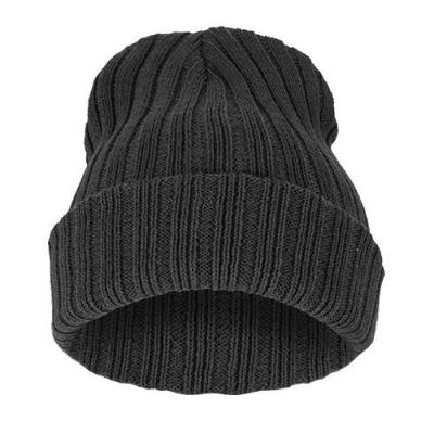 Čepice Beanie STRIPED BLANK Graphite