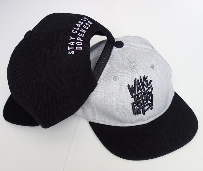 Kšiltovka Snapback - WAKE THE FUCK UP  5a4d592e2f