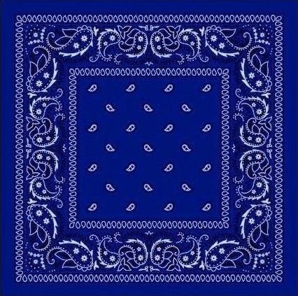 Bandana šátek Royal Blue - B291