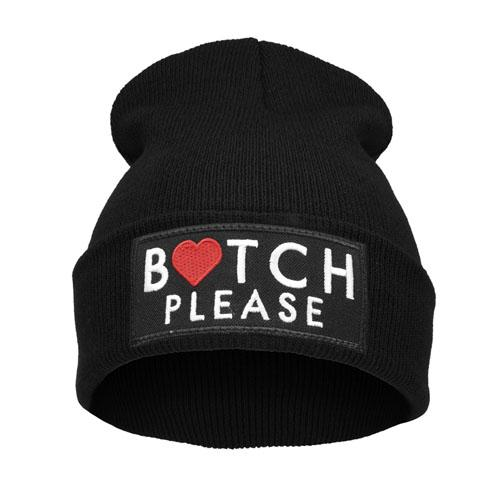 Čepice Beanie - BITCH PLEASE - B686