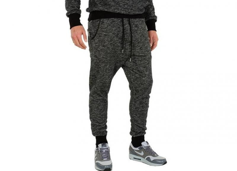 Tepláky I AM THE KING Sweat Pant II - anthracite/853 - vel. XL