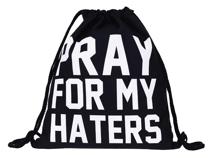 Vak na záda Z990 - s nápisem PRAY FOR MY HATERS